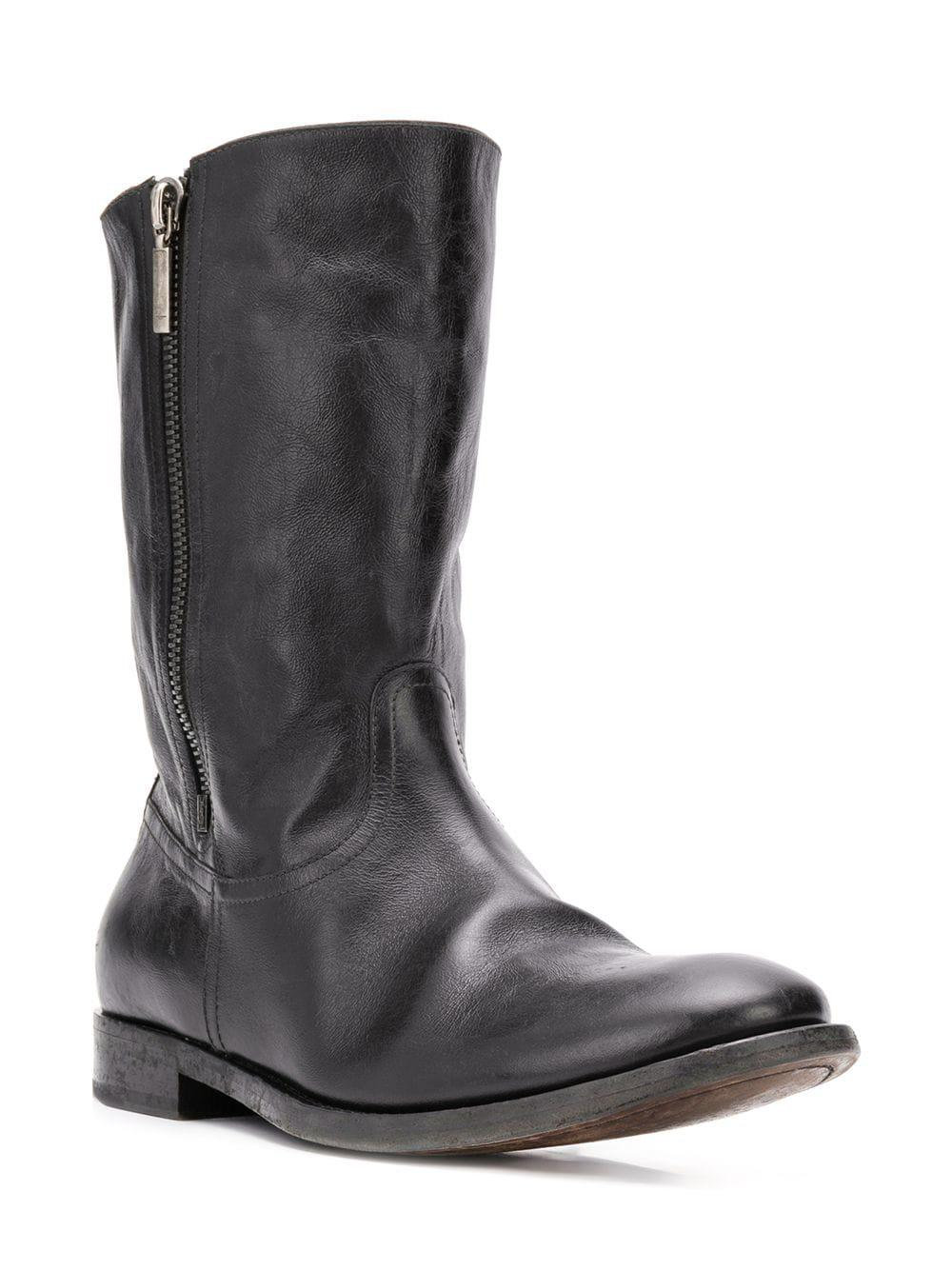d903bf4ce8d Lyst - Saint Laurent Classic Shearling Boots in Black for Men