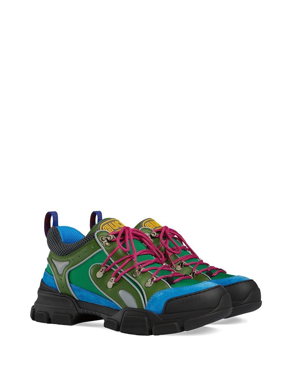 868341f0b2c Lyst - Gucci Men s Flashtrek Sneaker in Blue for Men