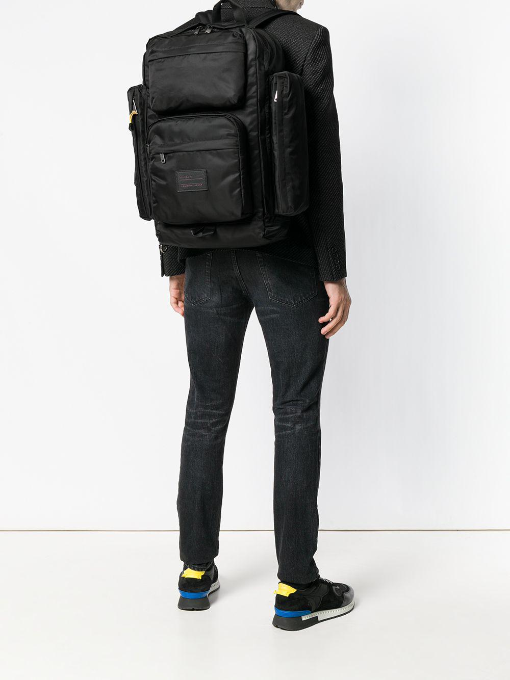 152ae3f73ab2 Givenchy - Black Wide Functional Backpack for Men - Lyst. View fullscreen