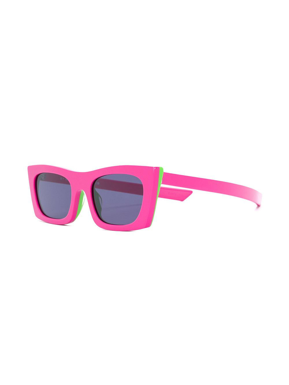 59a067dc83 Retrosuperfuture Fred Square Frame Sunglasses in Pink - Lyst