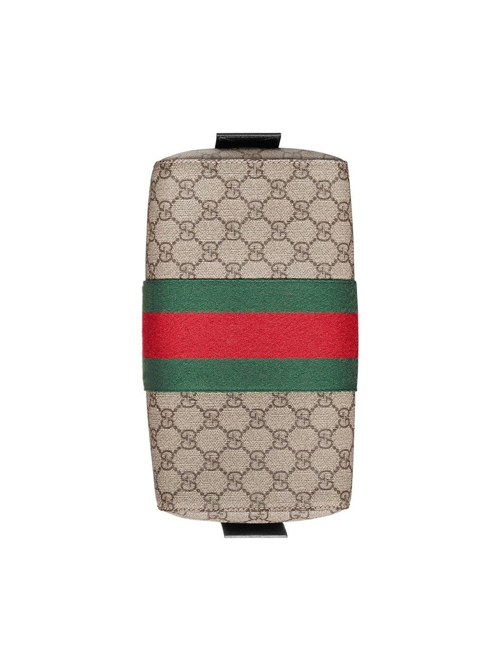 3e837863b6f6 Gucci Gg Supreme Toiletry Case for Men - Lyst