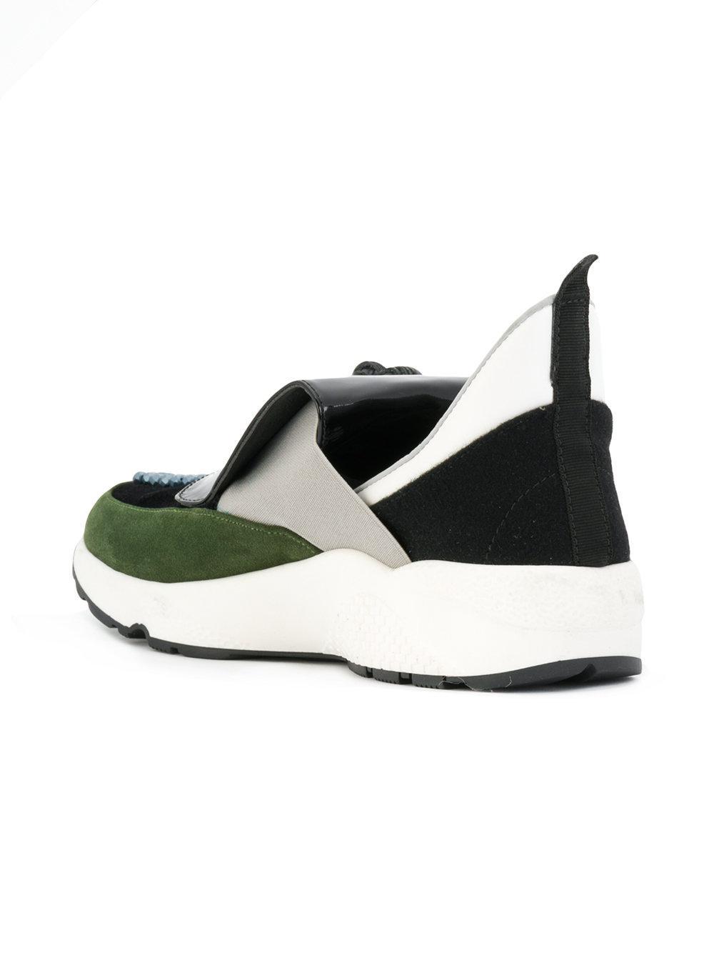 Lyst - No Ka  Oi Tassel Sneakers in Black cf623c6fa