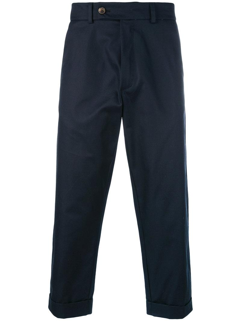 Cheval trousers - Blue Société Anonyme cIX11