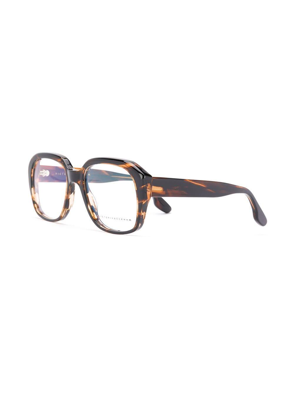 b148b1ffd7f Victoria Beckham Tortoise Shell Optical Glasses in Brown - Lyst