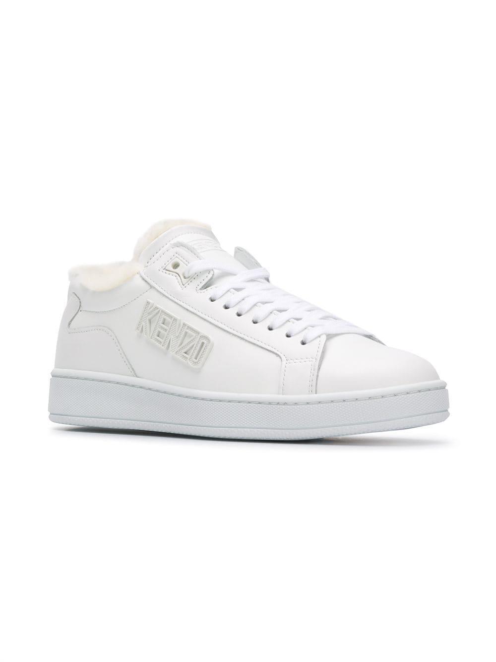 dcd2cbfebd19 KENZO Tennix Sneakers in White - Lyst