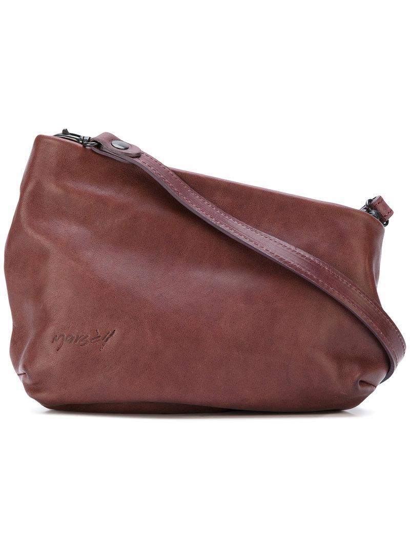 MARSèLL Fantasmino Embossed Logo Shoulder Bag L7zD8BUTK