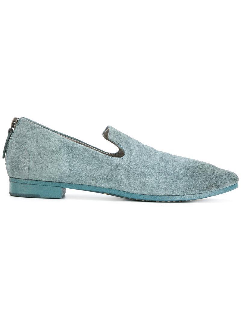 zip-detail loafers - Blue Marsèll wT8xzRKL