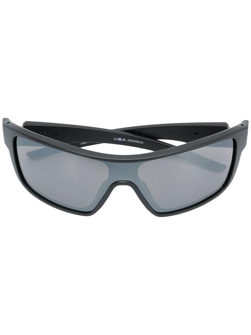 Oakley - Black Lunettes de soleil Straight for Men - Lyst. Afficher en  plein écran b8bef24737f8