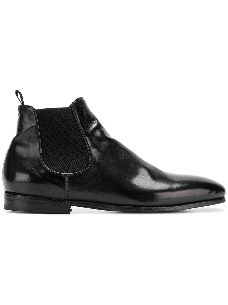 elasticated panel boots - Black Officine Creative Discount Classic Wholesale Online Clearance The Cheapest Explore Sale Online kDDLJdF