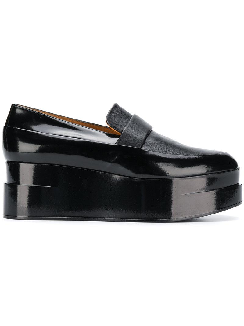Clergerie Lynn platform loafers - Black