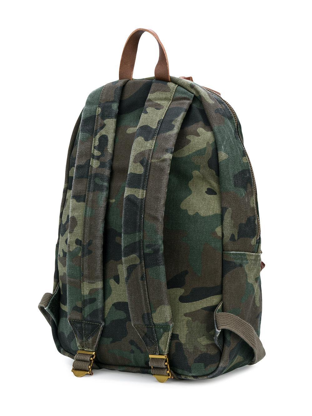Lyst - Sac à dos imprimé camouflage à logo brodé Polo Ralph Lauren ... f748df5914b1