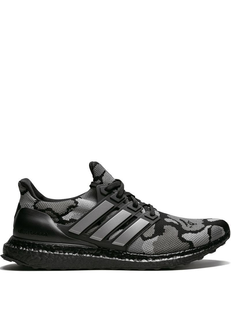 80de4cf3a Lyst - adidas X Yeezy Ultra Boost Bape X Sneakers in Black for Men