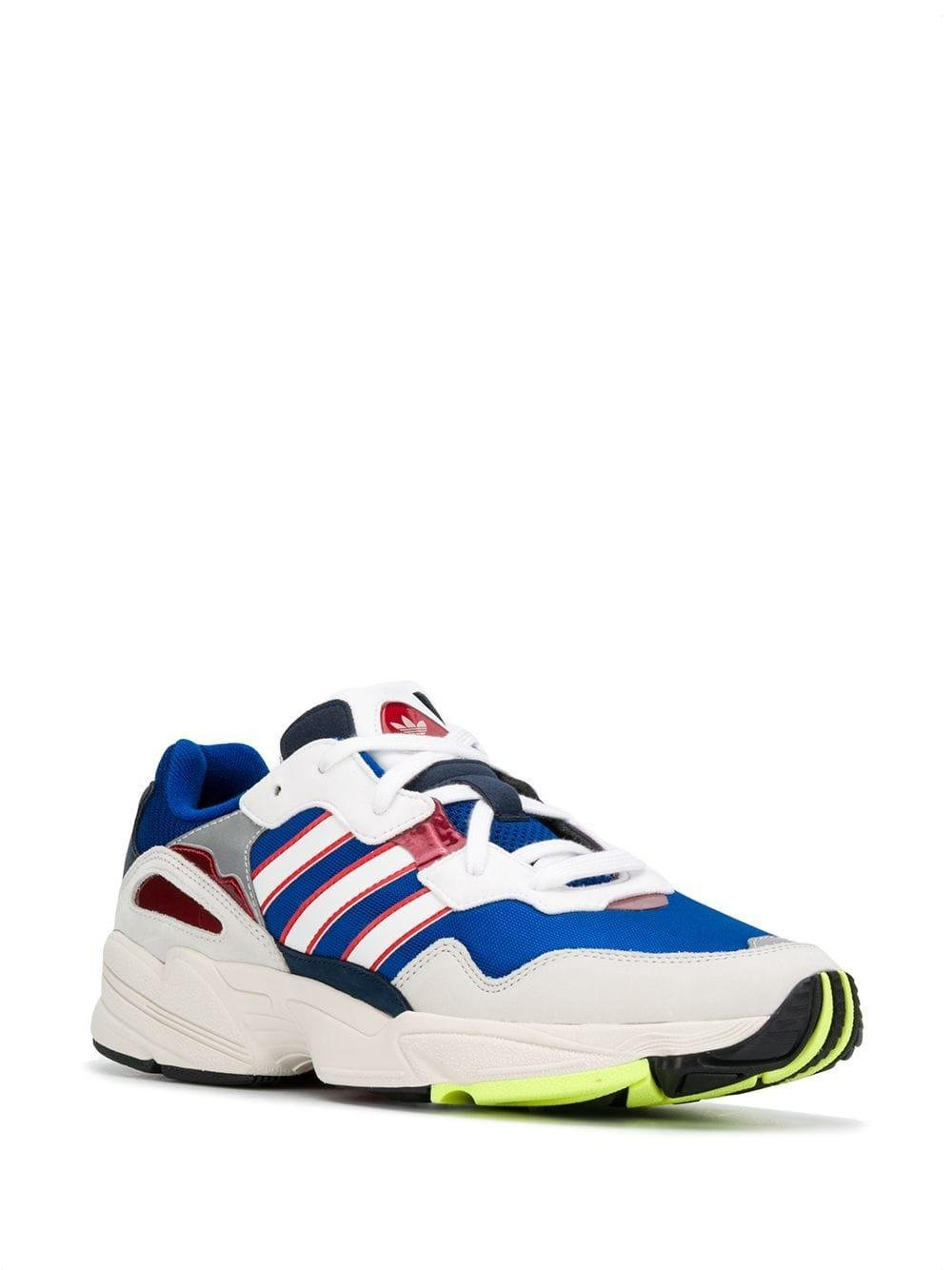 size 40 48f92 dc838 adidas Yung-96 Trainers in White for Men - Lyst