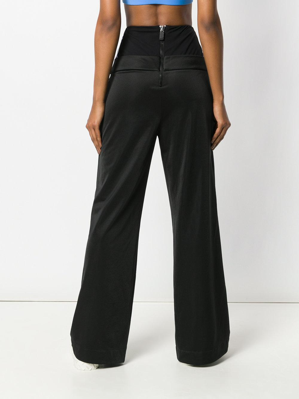 Discount Perfect Shop Offer Sale Online button detail striped trousers - Black No Ka'Oi Pay With Visa Online Discount Order Collections o6m70