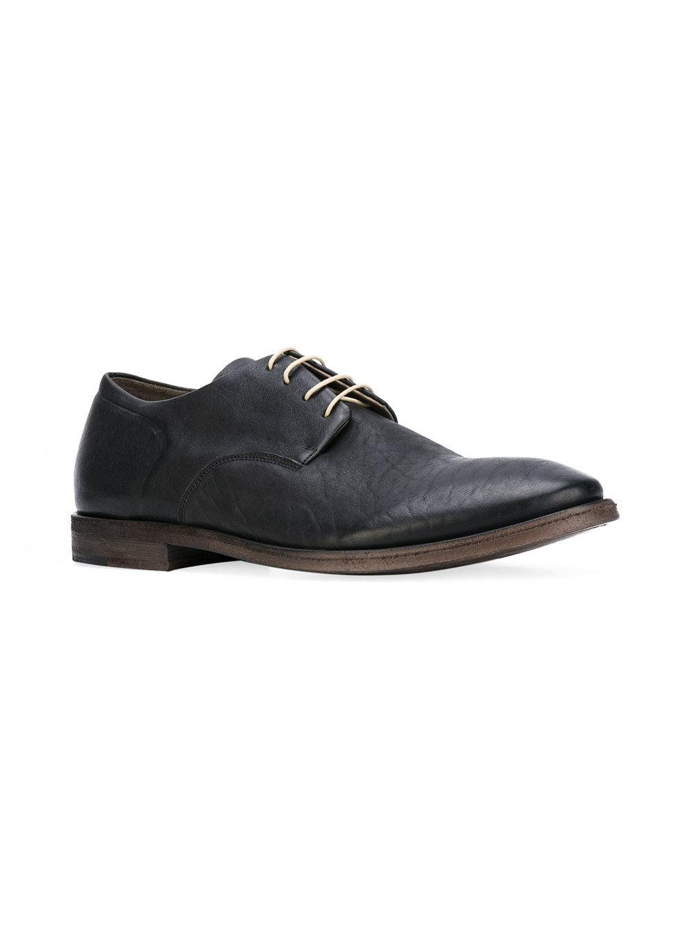 classic Derby shoes - Black Del Carlo