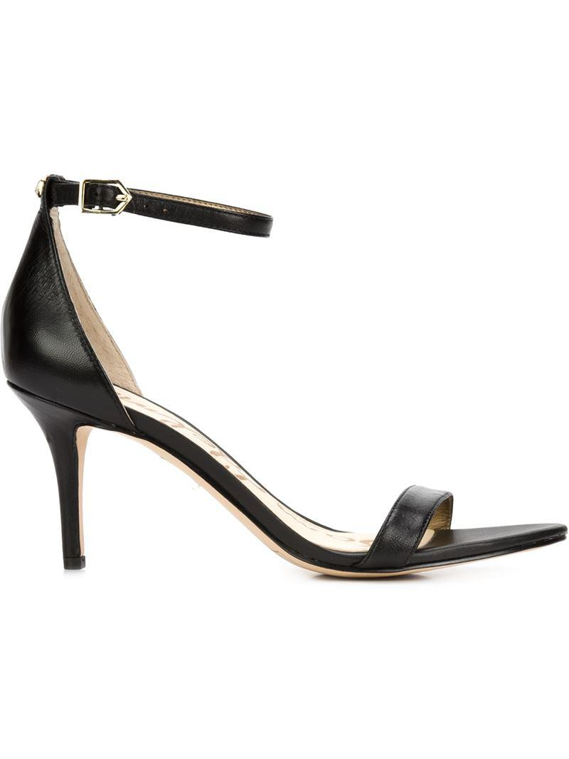 f6cc8ed4bf7 Lyst - Sam Edelman Stiletto Sandals in Black