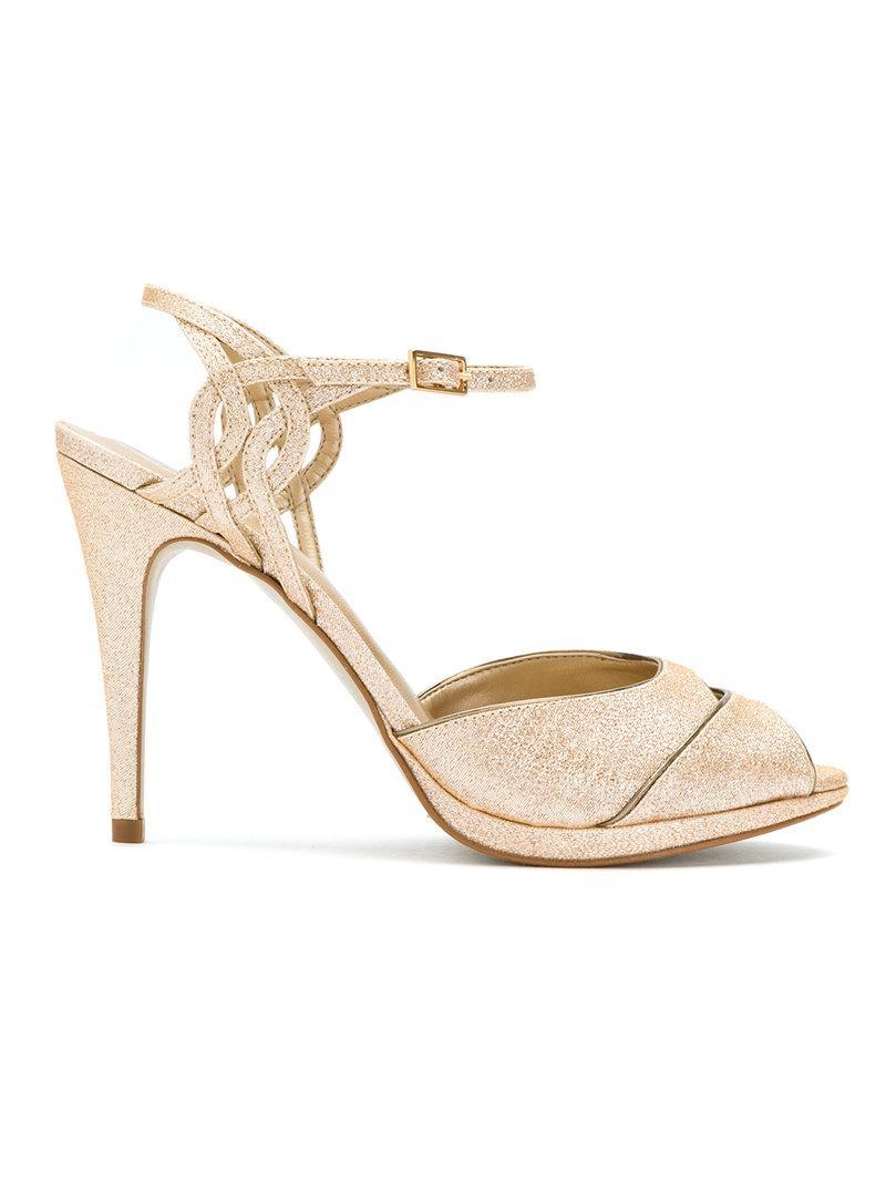 Donde Comprar Mejores En Línea Serpui bow detail sandals - Metallic farfetch bianco Gqgsb1W