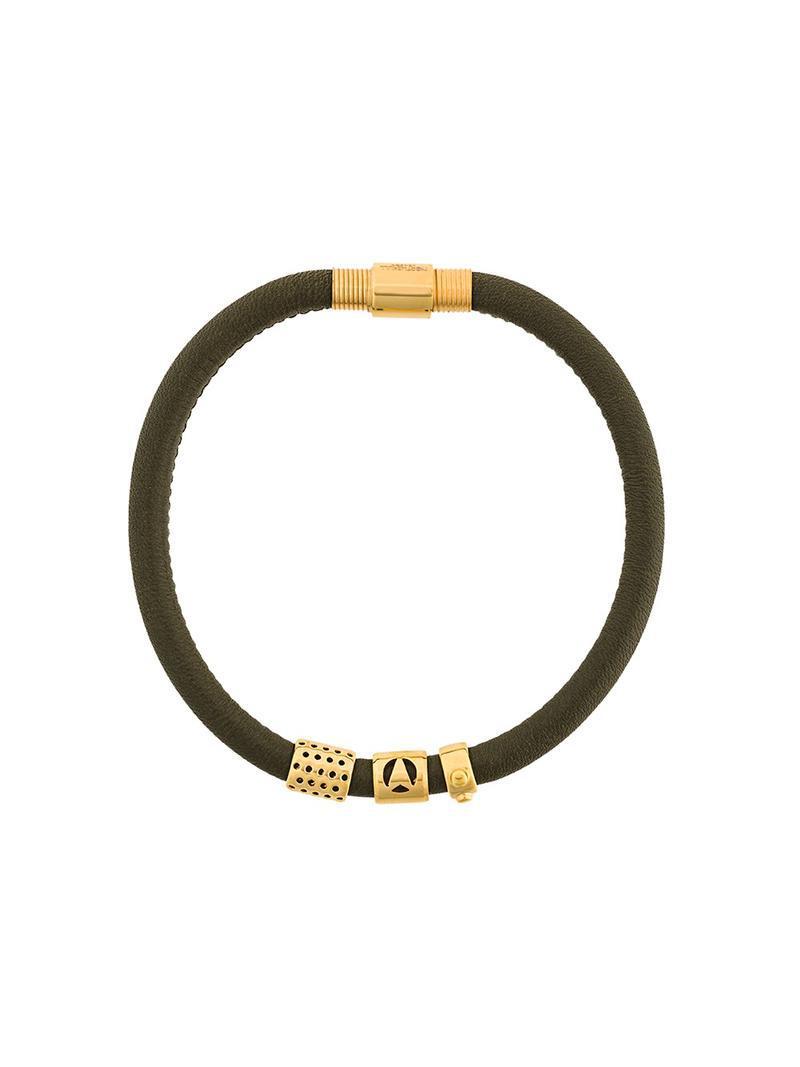 The Code bracelet - Green Northskull dYalmZAp