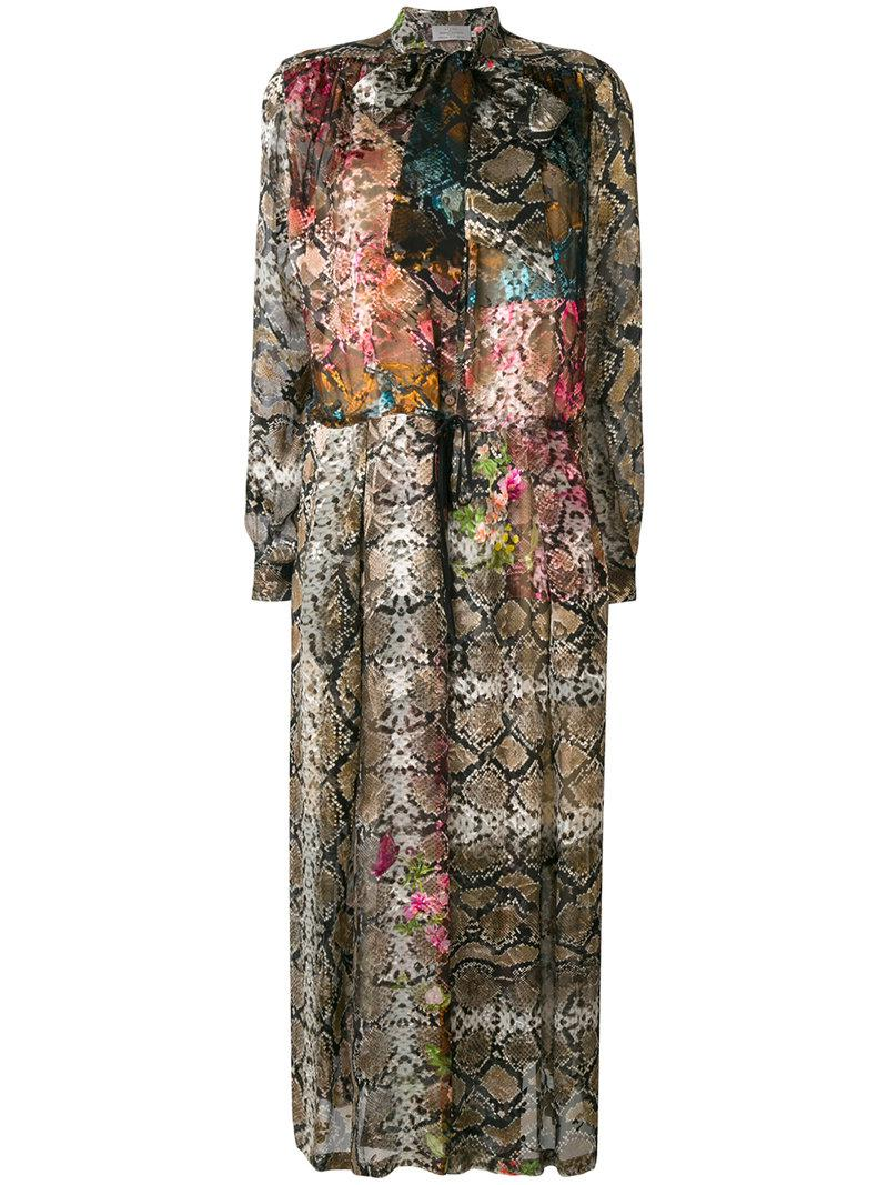 Cheap Top Quality Outlet Footlocker Finishline Preen By Thornton Bregazzi Natasha snakeskin print dress Buy Cheap Official Site Eastbay Online Free Shipping In China M8E047
