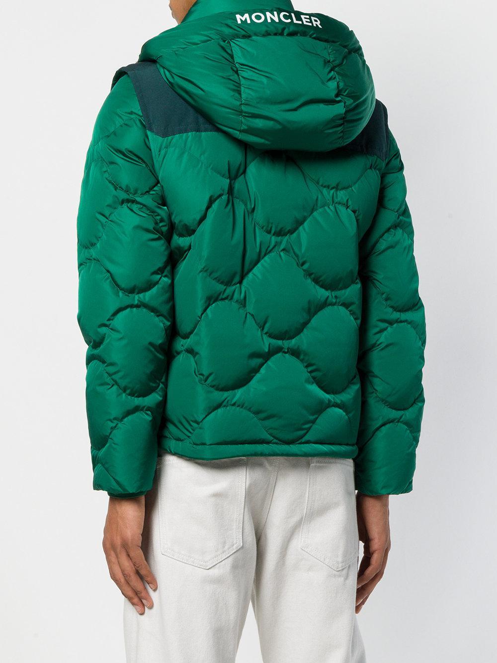 87715be60 Moncler Arles in Green for Men - Lyst
