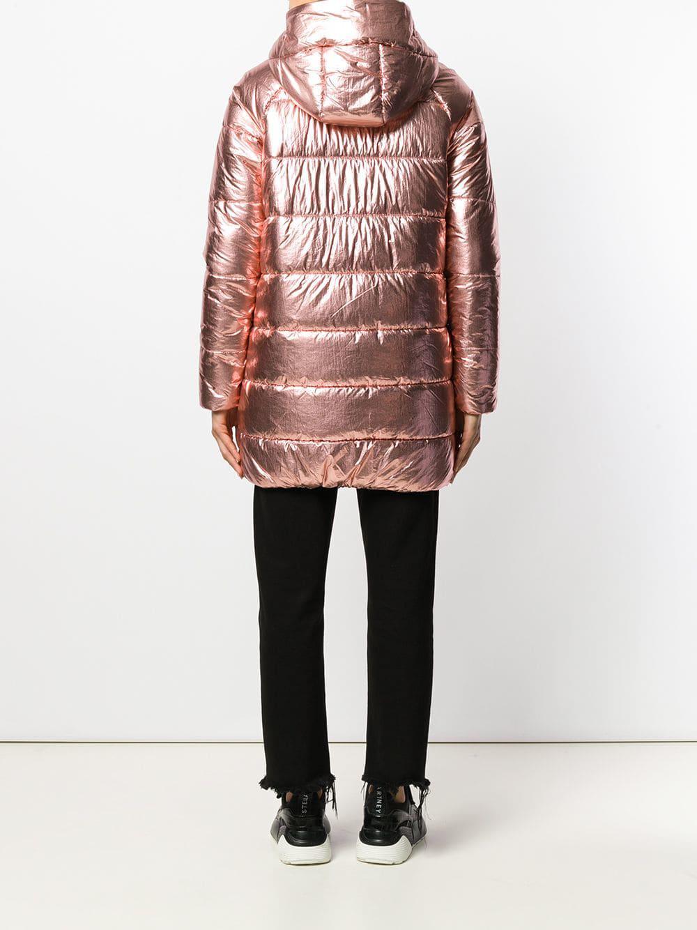 dfa08c8172 Lyst - Liu Jo Reversible Puffer Jacket in Pink