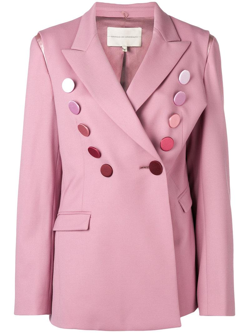 Buy Cheap With Paypal Marco De Vincenzo oversized blazer Free Shipping Finishline Discount Best Very Cheap Online ki2Cg