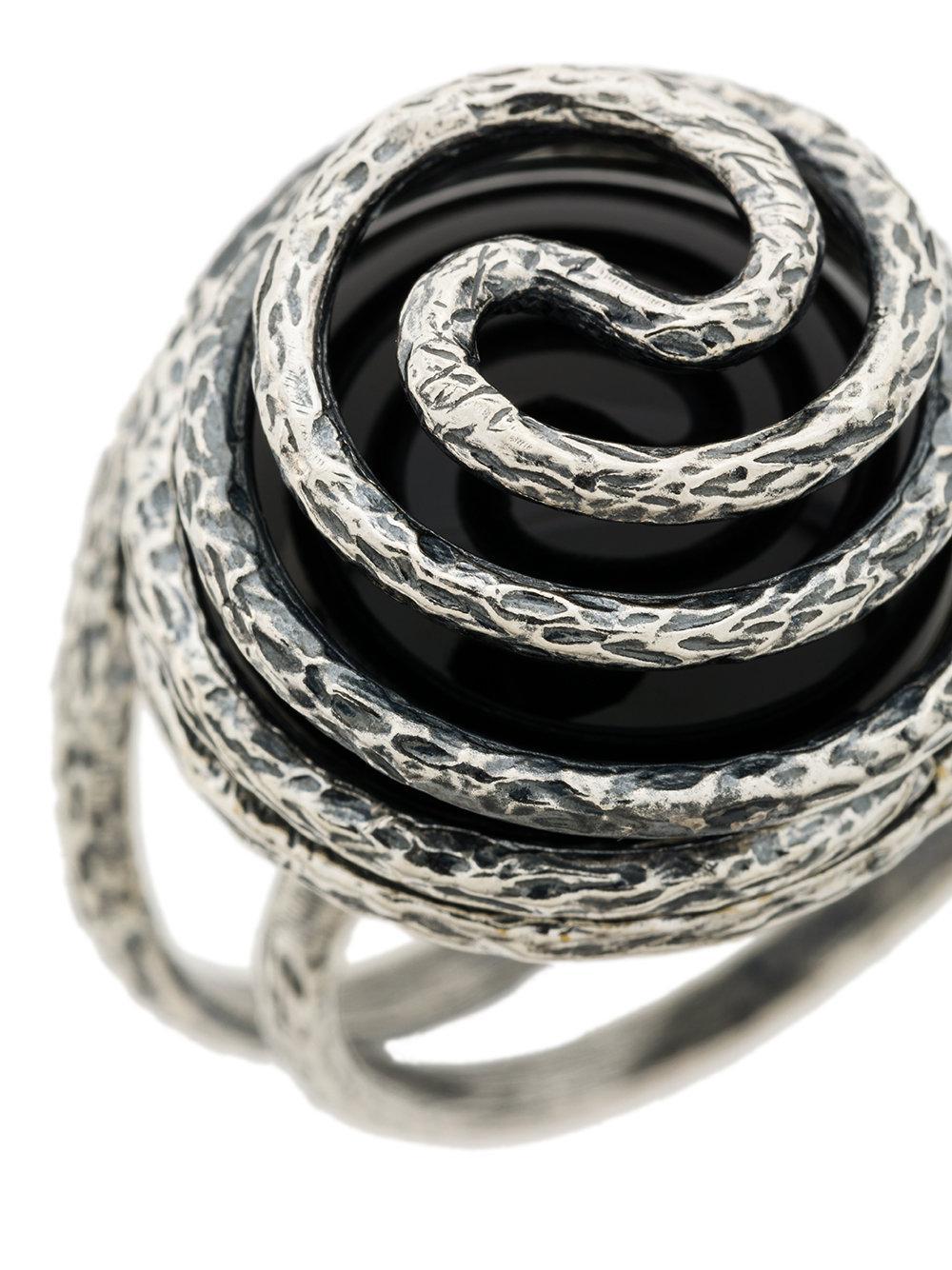 Midgard Paris Atlantes ring - Metallic W5dFE
