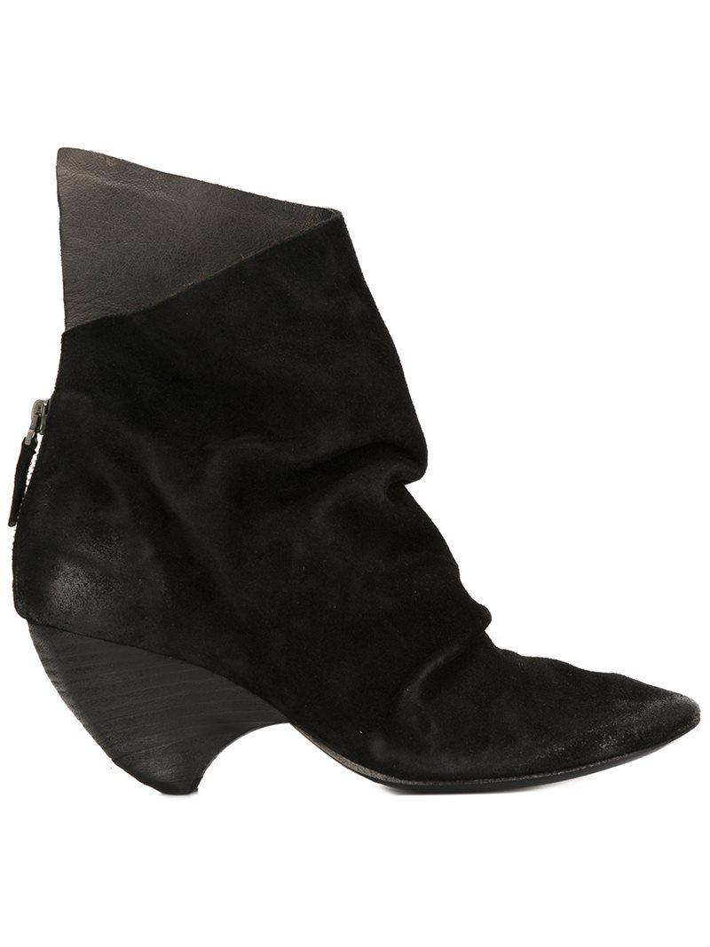 MARSèLL Curved heel ankle boots f3BYBJfSD