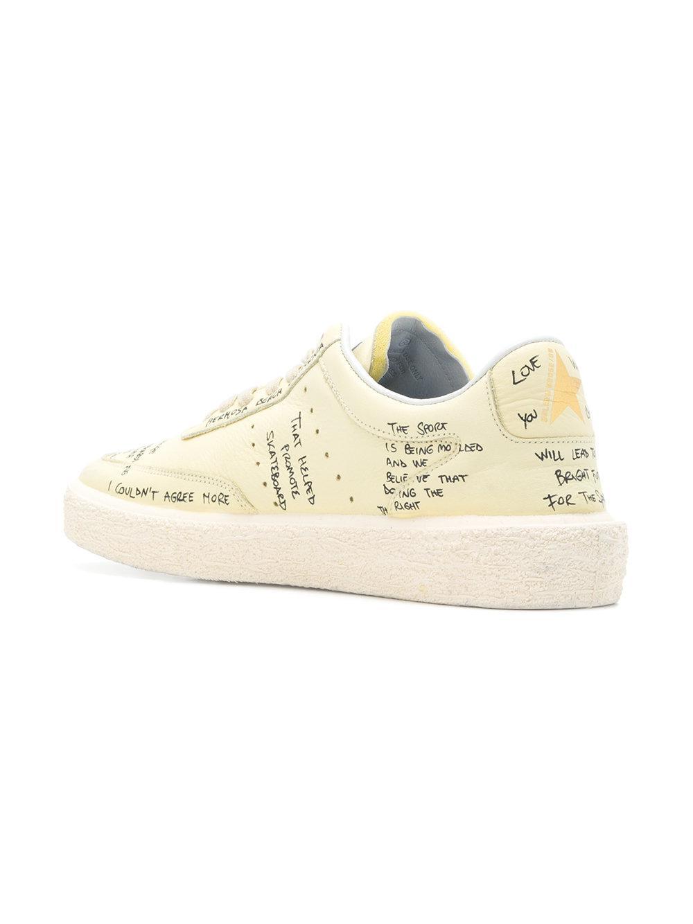 Tenthstar sneakers - Yellow & Orange Golden Goose 00rCM