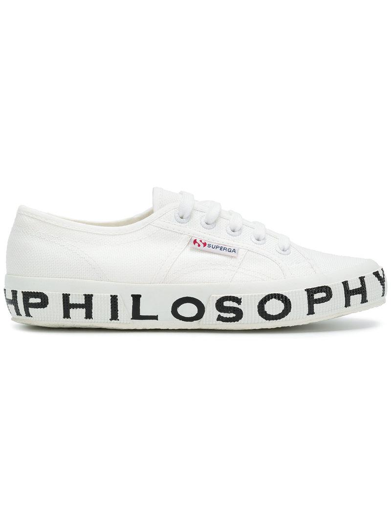 White sneakers (Philosophy Lorenzo Serafini collaboration) Philosophy di Lorenzo Serafini Enjoy Online Free Shipping View Factory Outlet Sale Online Outlet Newest YV7gU