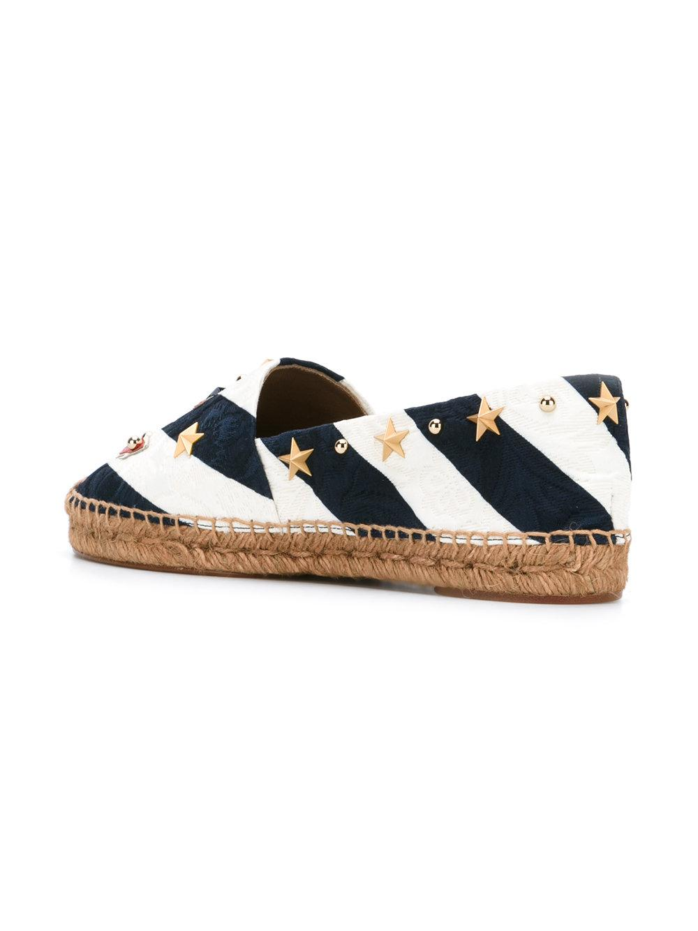 anchor striped espadrilles - Blue Dolce & Gabbana lHxJd2jjMt