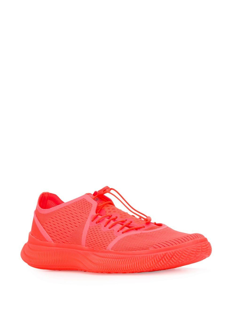 4a87e02f3b9a Lyst - adidas By Stella McCartney Pureboost Sneakers in Red