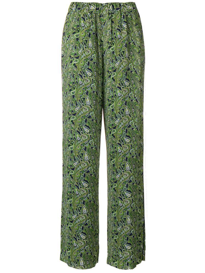 Pantalon Imprimé Paisley - Vert Michael Jordan jXG9LJ