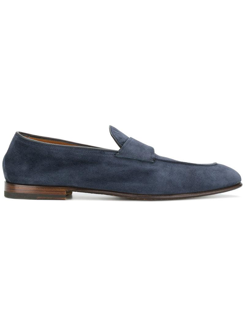 penny loafers - Blue Silvano Sassetti 4pXRHxjMjl