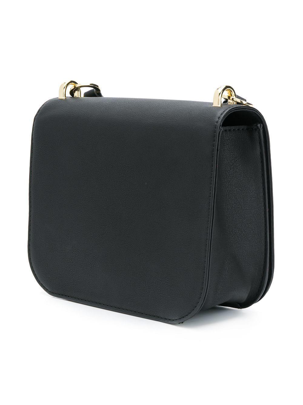 Love Moschino Fluffy Heart Crossbody Bag in Black - Lyst 5ecf0fbb95844