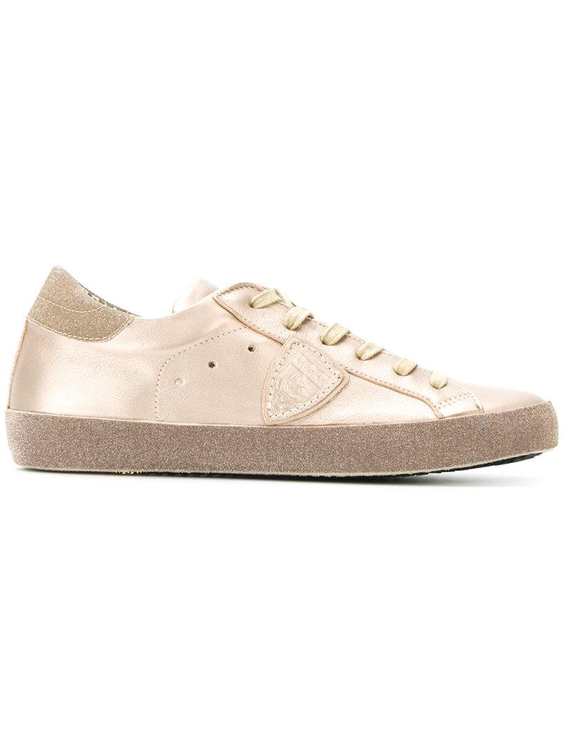 Philippe model Trainers with glitter effect agmbS