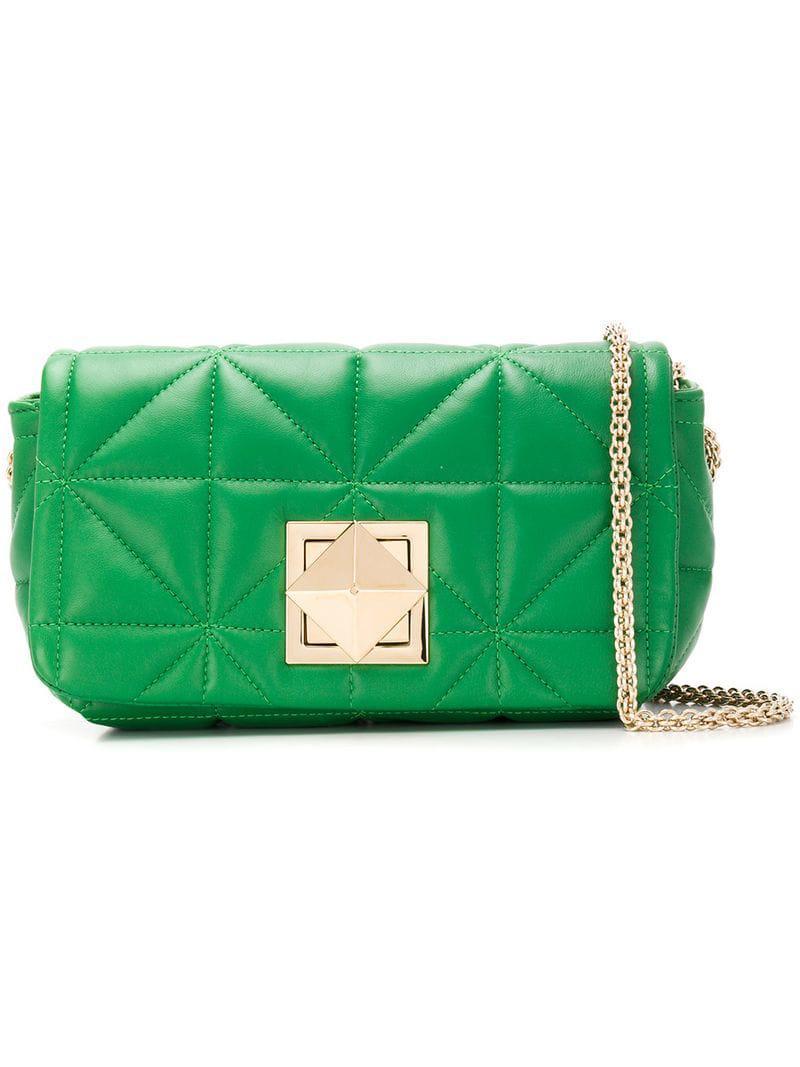 Sonia Rykiel Le Copain Bag in Green - Lyst 742fc21025462