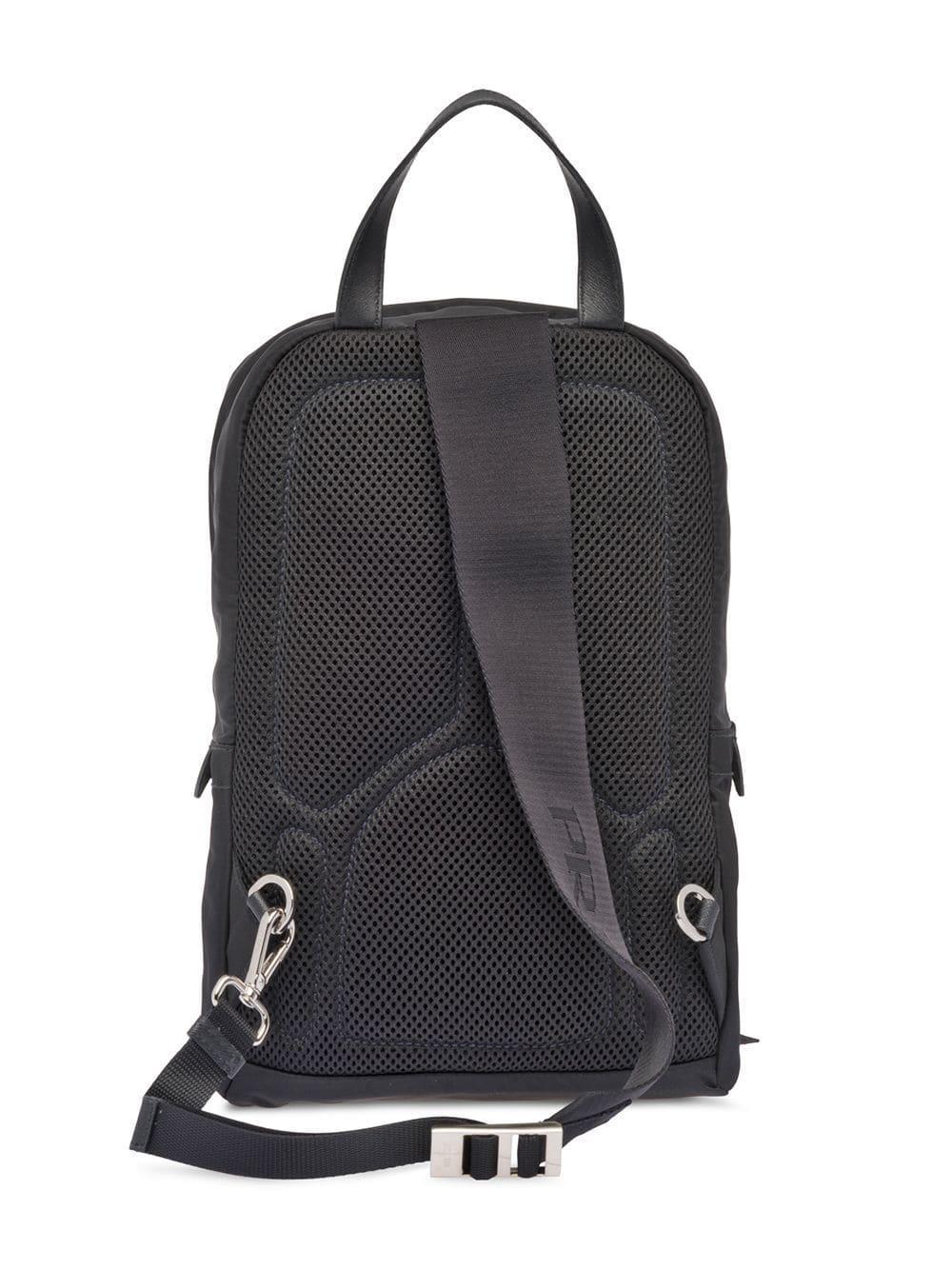 d8b8aa6932 Prada - Black One-shoulder Backpack - Lyst. View fullscreen