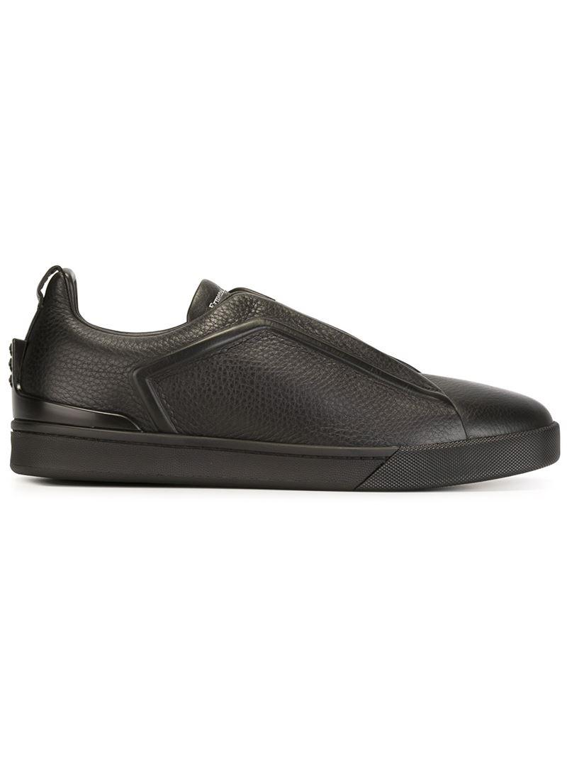 Ermenegildo Zegna lace-up sneakers fake sale online cost online buy cheap discount outlet prices 5yfwzMB
