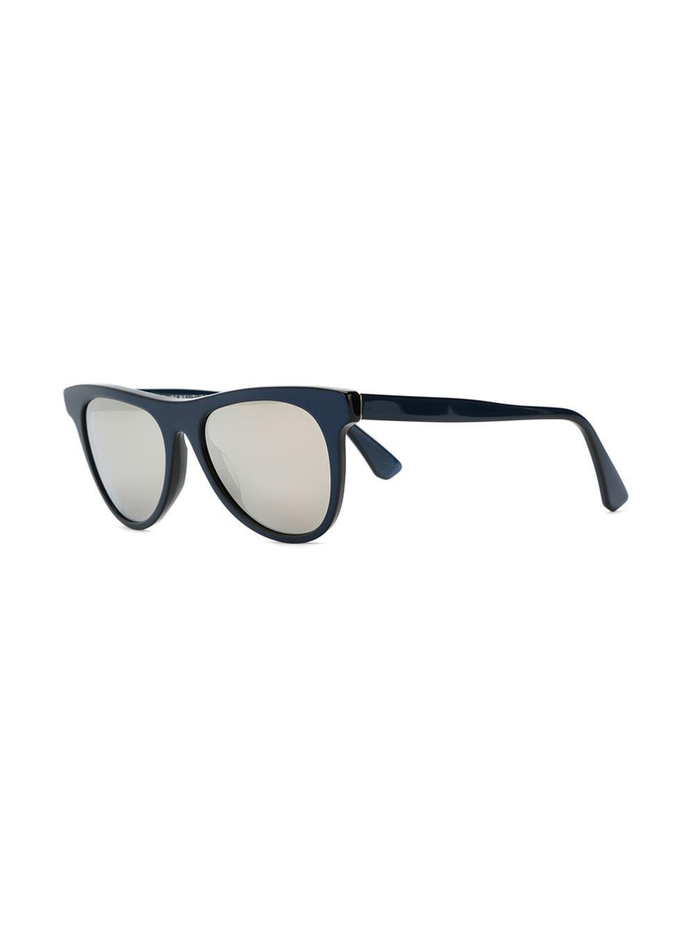 Man Metallic III sunglasses - Blue Retro Superfuture dc3s3