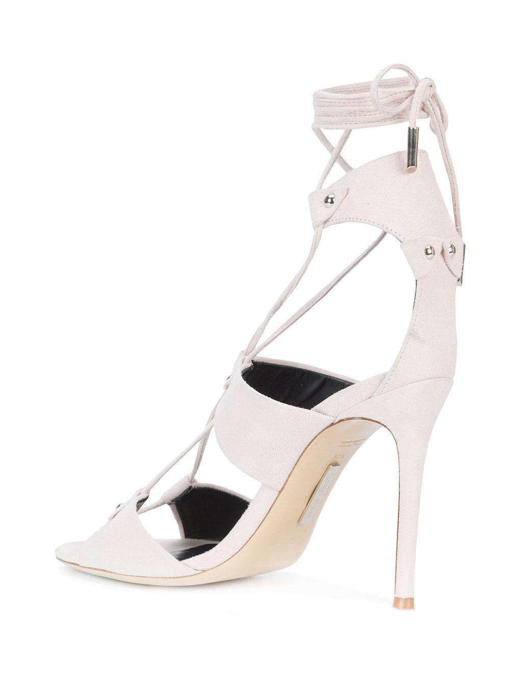 lace up sandals - Nude & Neutrals Thomas Wylde TK0Pv