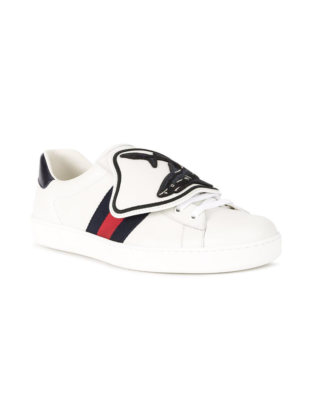0018e5f5b99d Lyst - Gucci Ace Sneaker With Removable Patches in White for Men