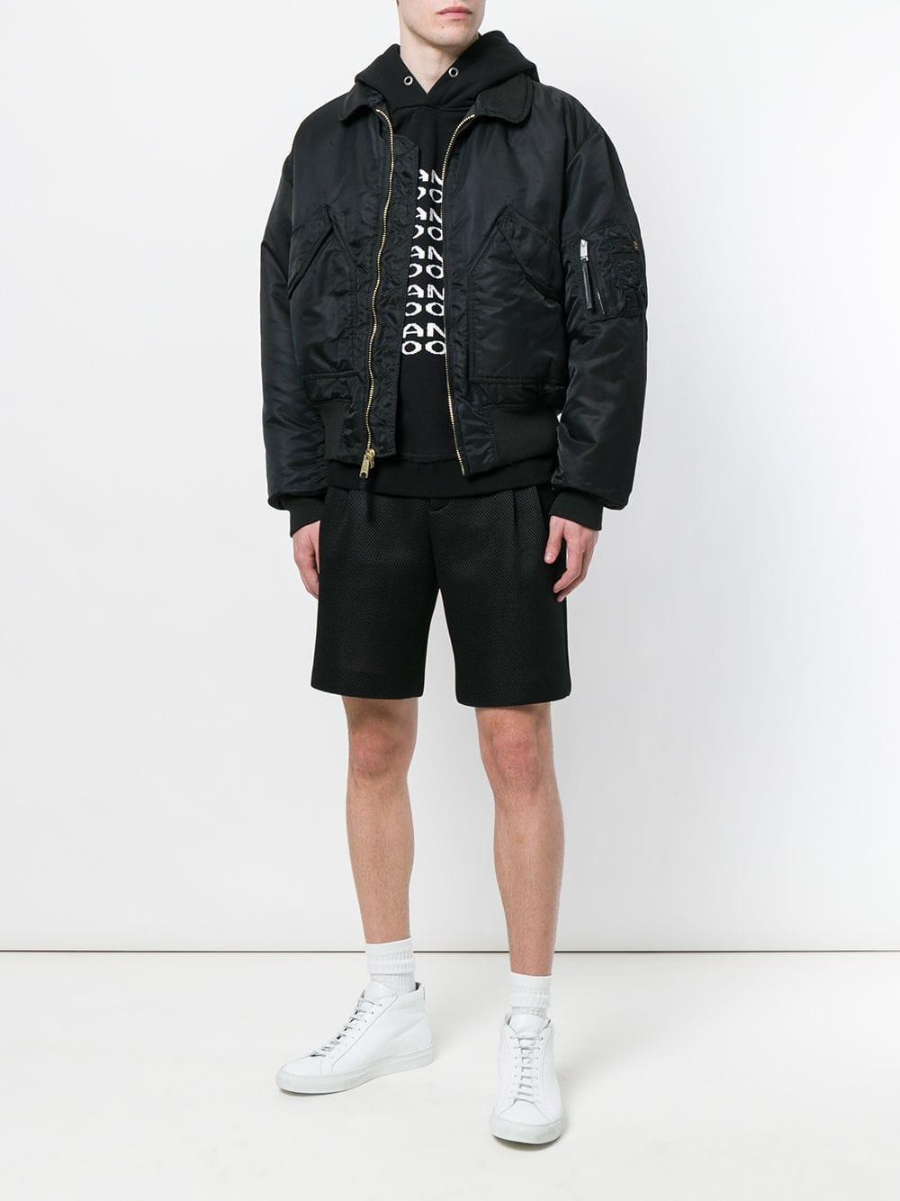 11502c888 1017 ALYX 9SM X Alpha Pilot Jacket in Black for Men - Lyst
