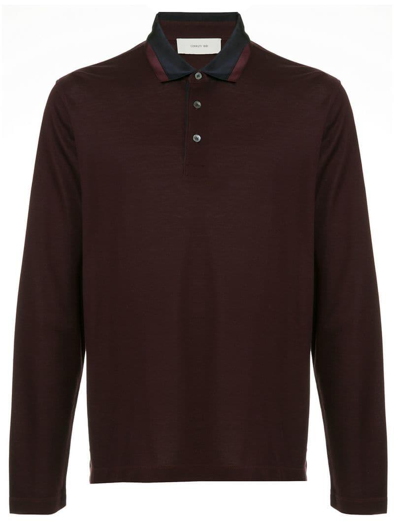 90a4c8c2 Cerruti 1881 Polo Shirt in Red for Men - Lyst