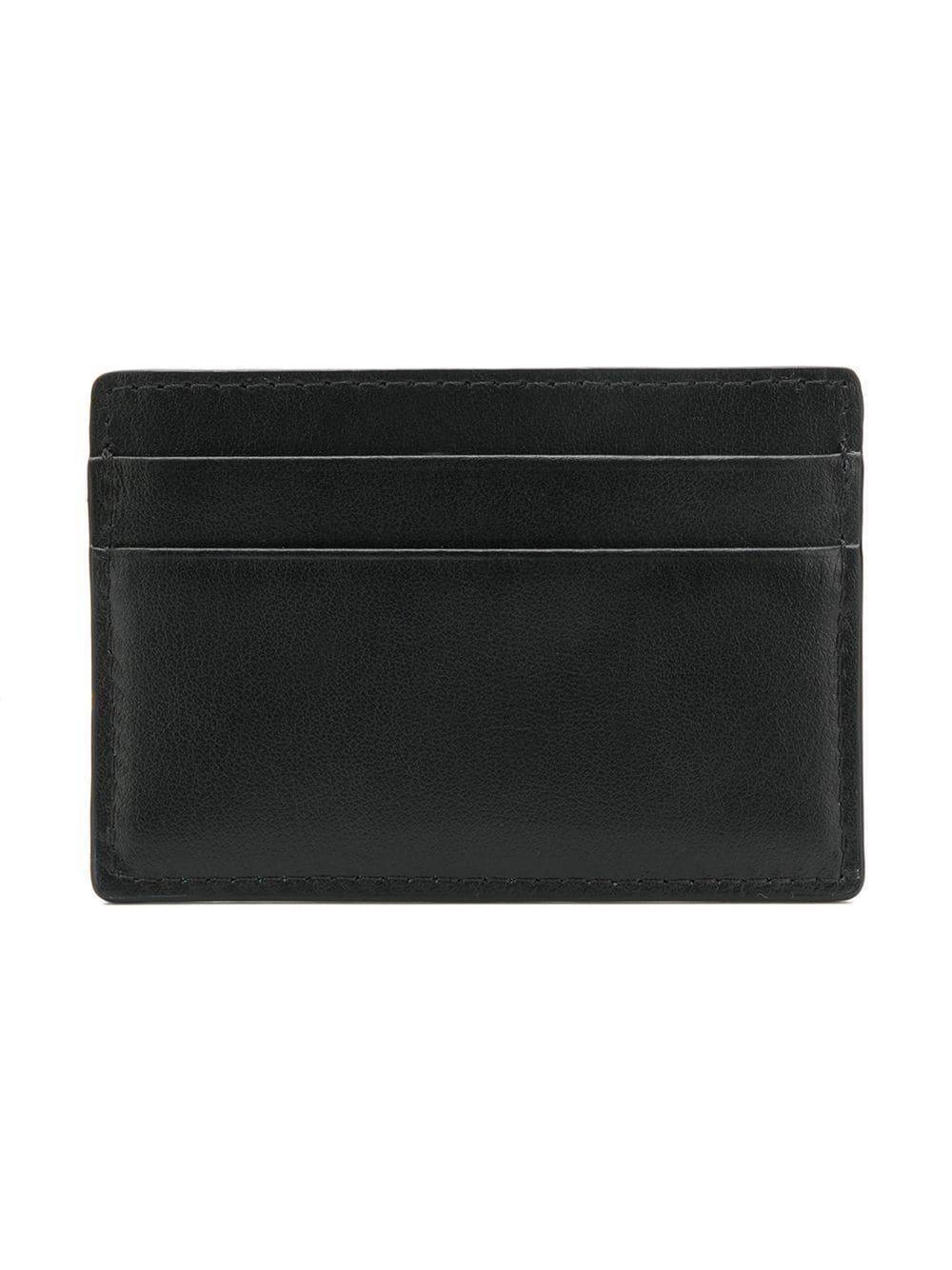 ... classic 35b05 63594 Versace - Black Mini Medusa Head Cardholder for Men  - Lyst. 609b2284de