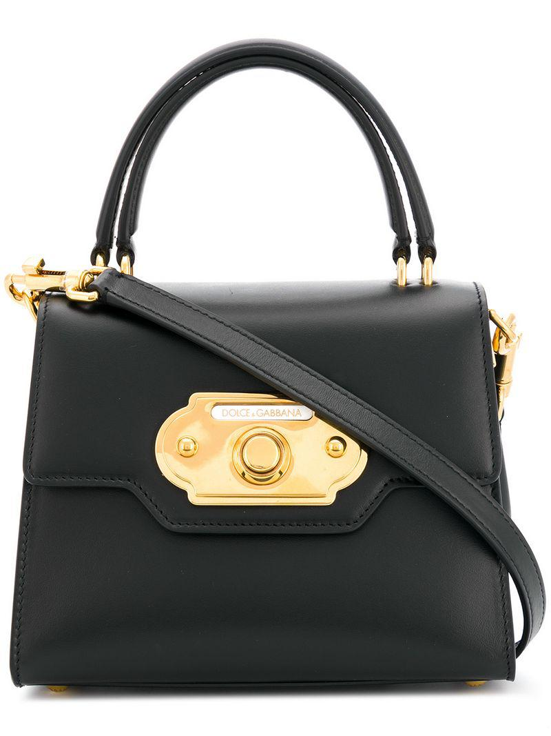 Lyst - Dolce   Gabbana Welcome Bag in Black 9c36b3fb1a66e