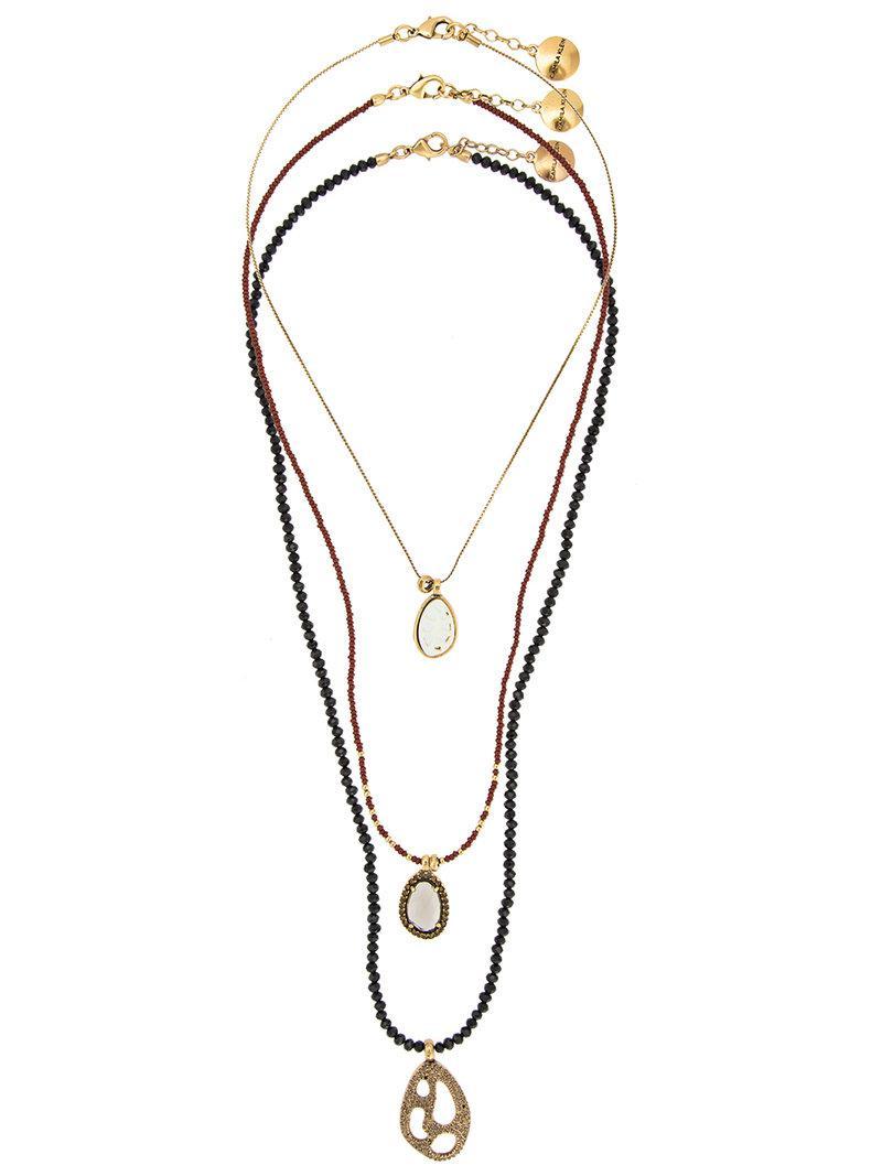 Camila Klein three necklaces set - Metallic OG7qIi