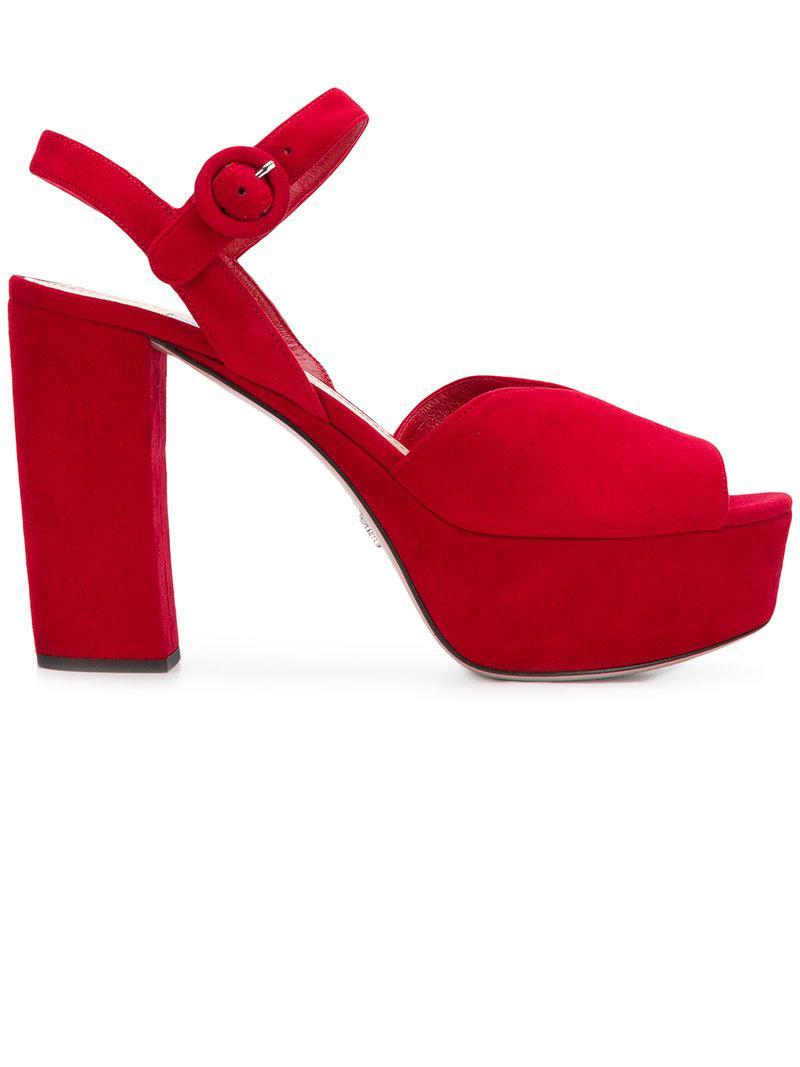 platform sole sandals - Red Prada yIeie