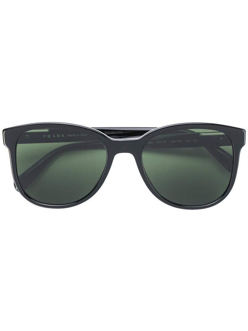e67562dd1c Prada - Black Gafas de sol con montura cuadrada for Men - Lyst. Ver en pantalla  completa