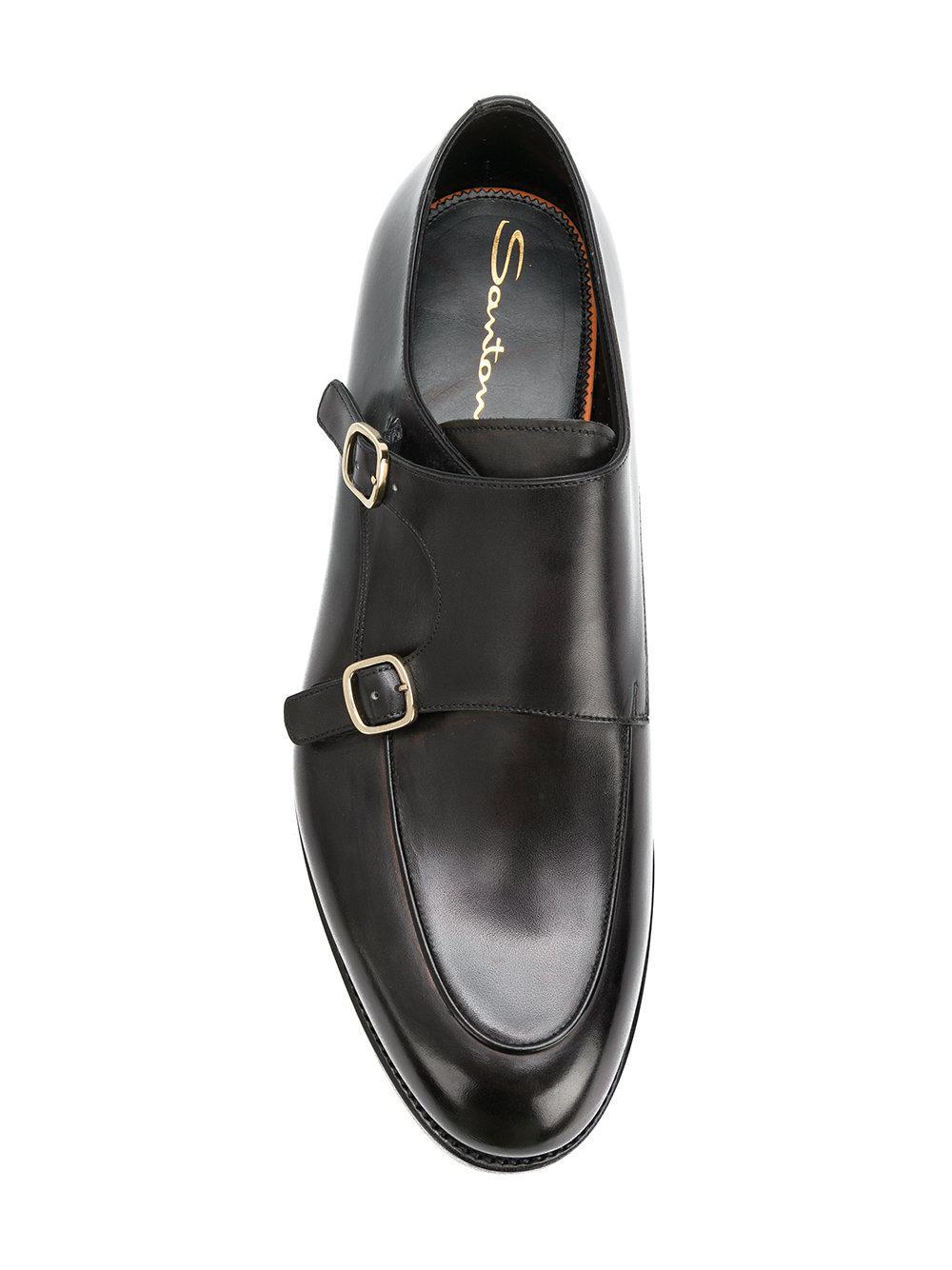 buckle fastened loafers - Black Santoni GQGjn88Mu
